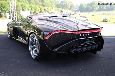 The guiding principle of the genius car designer ettore bugatti, who came from. Chantilly 2019 - Bugatti La Voiture Noire - 4Legend.com - AudiPassion.com
