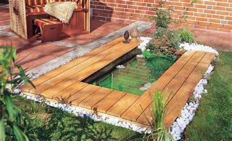 Schritt Fuer Schritt Gartenteich Selber Bauen by Mini Teich Wasser Miniteich Hinterhof Teich Und Teich