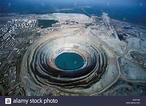 Aerial View Of One Of Russia U0026 39 S Biggest Kimberlite Pipes