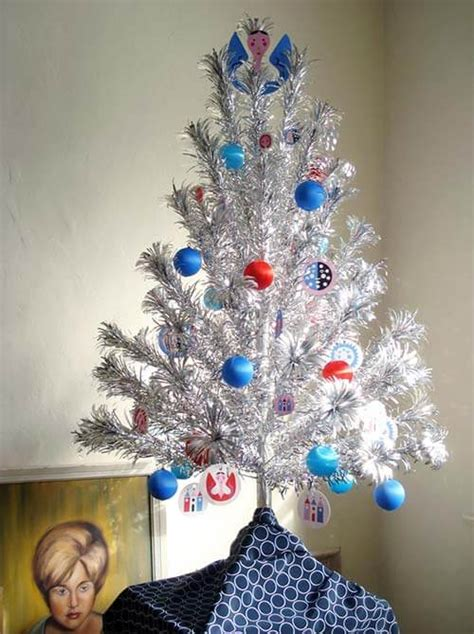 places  find aluminum christmas trees vintage  reproduction