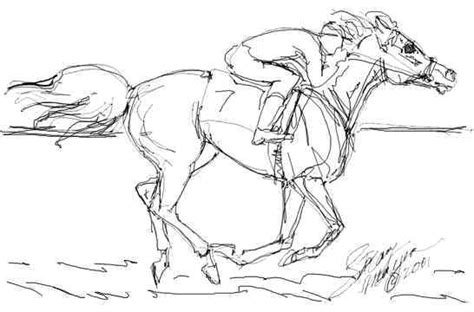 Race Horses Color Pictures