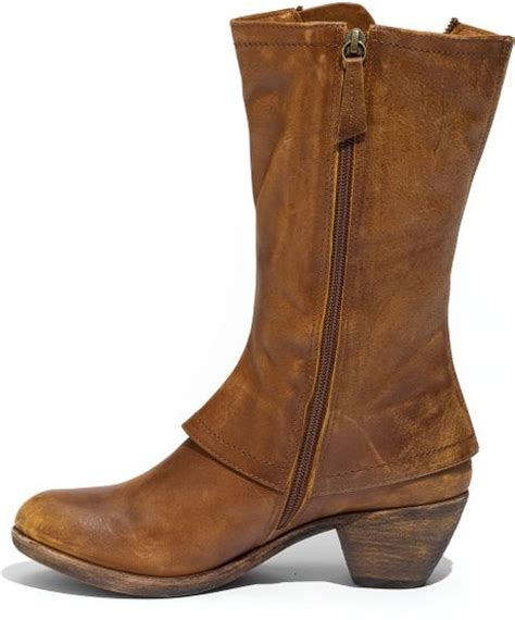 The Boat Matisse by Matisse Dove Boot In Brown Cognac Lyst