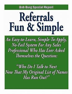 Business Referr... Inspirational Referral Quotes