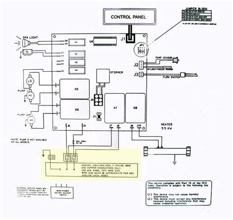 hot tub wiring diagram