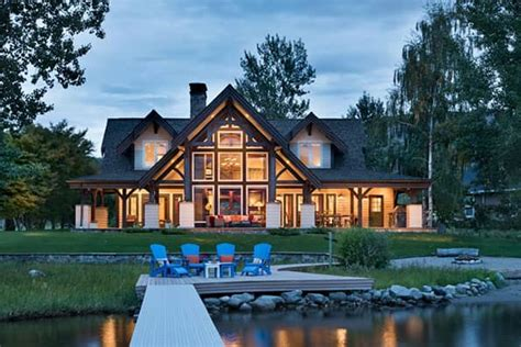 modern ranch floor plans washington log and timber frame homes by precisioncraft