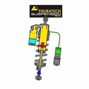 Touratech Extreme Rear Shock  Ktm 950 Super Enduro R