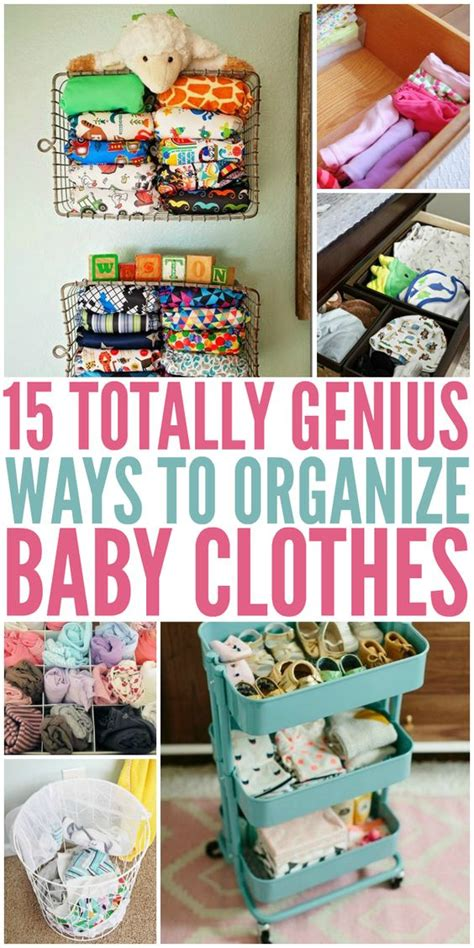 Organize Baby Clothes, Babies Clothes And Clothes On Pinterest