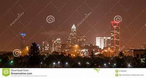 Skyline Of Uptown Charlotte, North Carolina Editorial ...