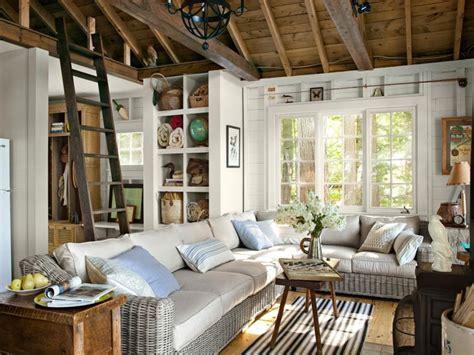 Small Living Room Lake House Lake House Living Room