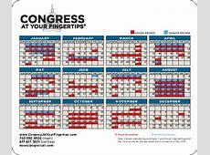 Cq Roll Call Congressional Calendar 2018 Calendar