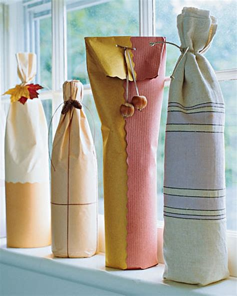 Wine Bottle Gift Wrap Ideas (22 Pics