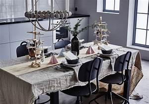 Decoration De Noel Table : une d coration de table de no l qui se joue du bois d co ~ Melissatoandfro.com Idées de Décoration