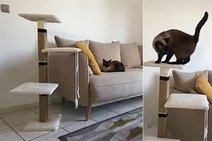 Arbre à Chat Fait Maison : les 25 meilleures id es de la cat gorie arbres chat maison sur pinterest jouets pour chat ~ Melissatoandfro.com Idées de Décoration