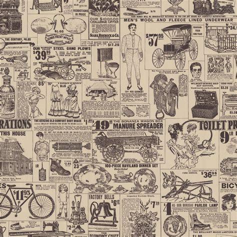 news custom vintage retro wallpaper vintage