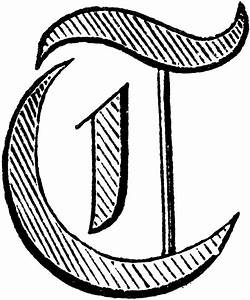 decorative letter clipart etc With decorative letter t