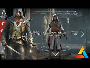 Assassin's Creed Unity Customize Arno - Create Your Own ...