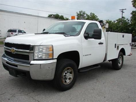 Buy Used Clean Utility With Crane! 152850 Miles 60 V8 Gas