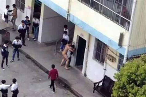 Pictures Show Naked Teacher Hou In Taiping Trying To