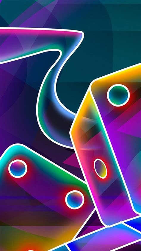 Neon Wallpaper Mobile by Neon Dice Hd Wallpaper For Your Mobile Phone