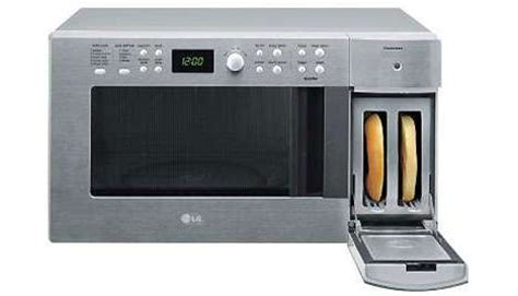 Combination Microwave Toasters Lg's Vertical Toaster