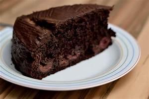 schoko kirschkuchen saftig schokoladig vegan und