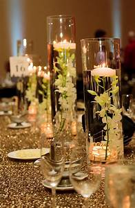An, Elegant, Floating, Candle, Table, Centerpiece, Creates, A, Magical, Mood, For, You, U2026