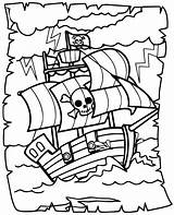 Coloring Pirates Print Pages Children sketch template