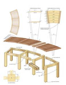Backless Garden Benches by Campfire Bench Woodworking Plans Woodshop Plans