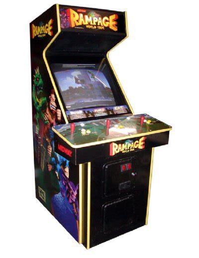 Rampage Arcade Game Rentals