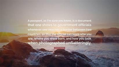 Snicket Lemony Wallpapers Passport Sure Document Quote