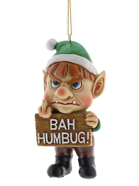 bad santa hanging decorations funny christmas tree xmas