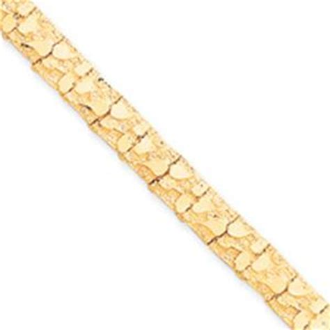 yellow mm gold nugget bracelet latest