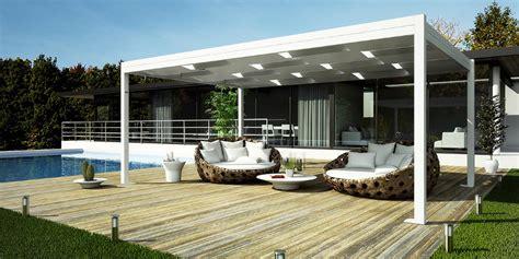 terrazzi design vendita pergole moderne in alluminio design minimal