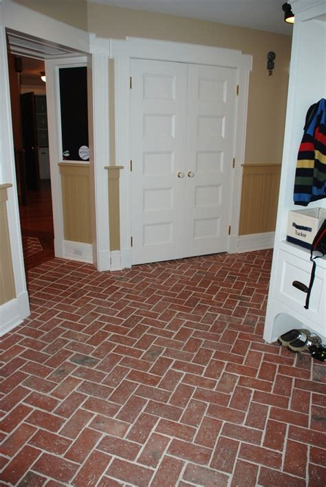 wimer s mill entryways and hallways inglenook brick tiles brick pavers thin brick tile brick floor tile
