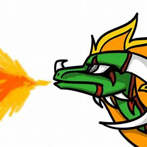 Fire Dragon Gif - ClipArt Best