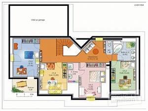 Maison de caractère 1 Détail du plan de Maison de caractère 1 Faire construire sa maison