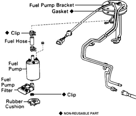 Fue Wiring Diagram 1997 Toyotum Camry by Toyota Previa Fuel Relay