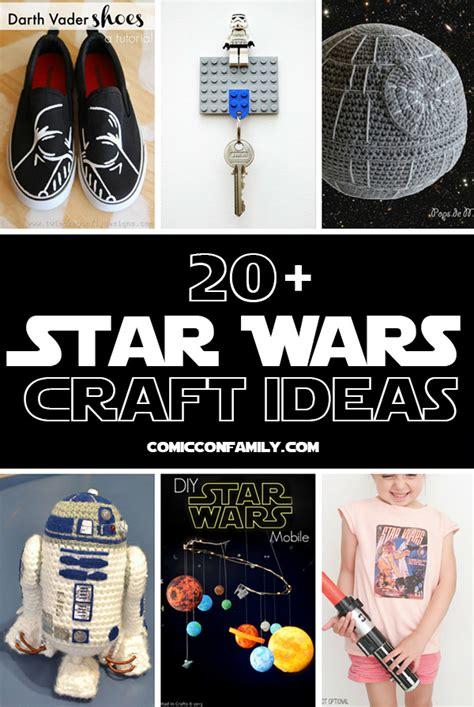 star wars craft ideas comic  family