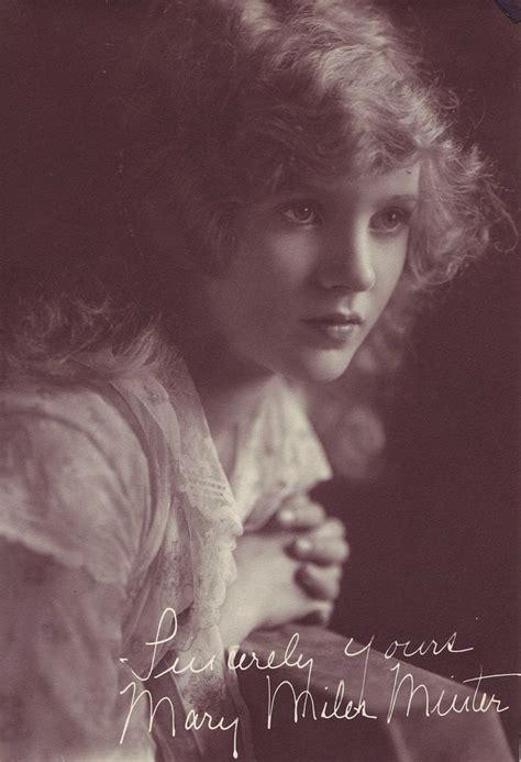 vintage portraits  american silent film  actresses