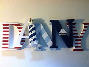 1000 ideas about nautical letters on pinterest nautical With nautical themed letter art