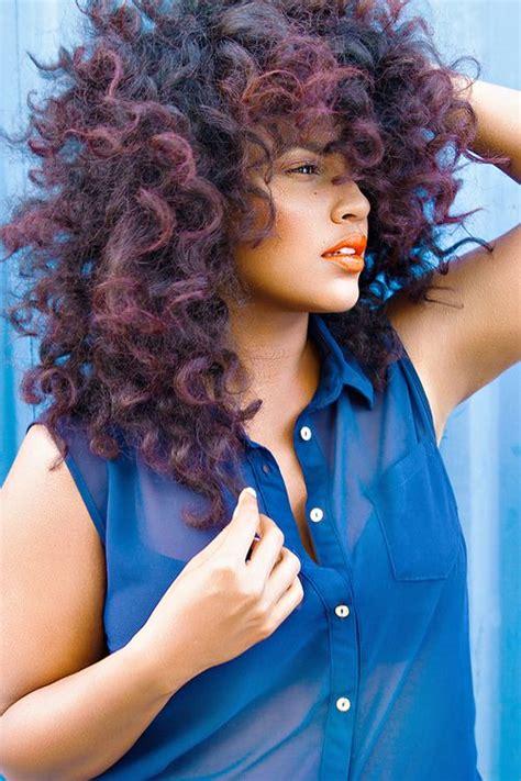 mesmerizing winter hair trends  black hair styles