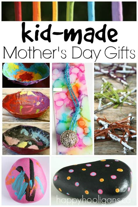 handmade mothers day gifts  kids   ages