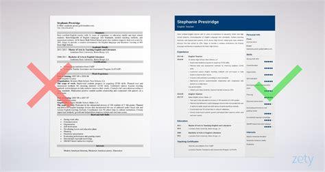 english teacher resume sample  job description skills