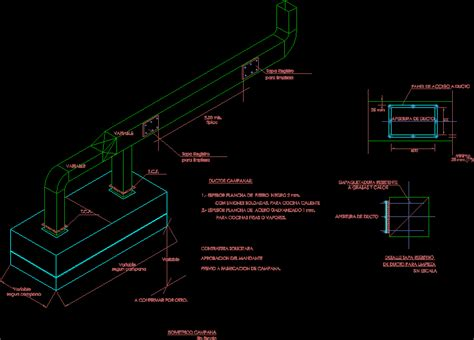 exhaust hood dwg block  autocad designs cad