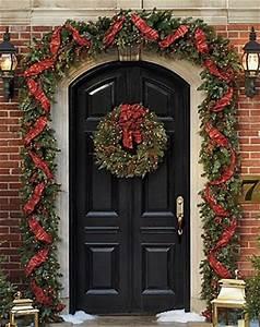 A Noël on décore aussi devant sa porte Floriane Lemarié
