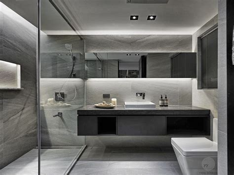 Excellent Brown Modern Bathrooms Also Small Modern Bathroom Designs 2018 Also Very Intended For