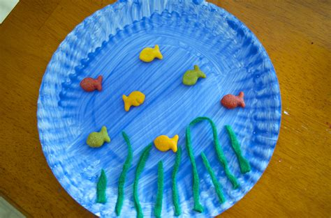 preschool under the sea crafts the sea paper plate craft 173