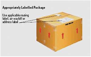 Packaging guide and tips fedex canada for How to send a shipping label