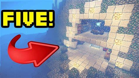 minecraft  amazing underwater housebase turorials youtube