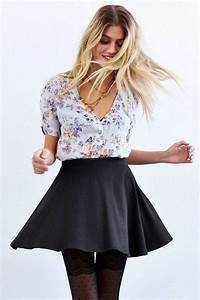 Skirt Outfits for College- 35 Ideas To Wear Skirts To School